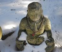 peaceful snowman