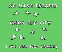 garden cartoon on escape from the city