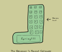 doodle by andre: the advent of spring