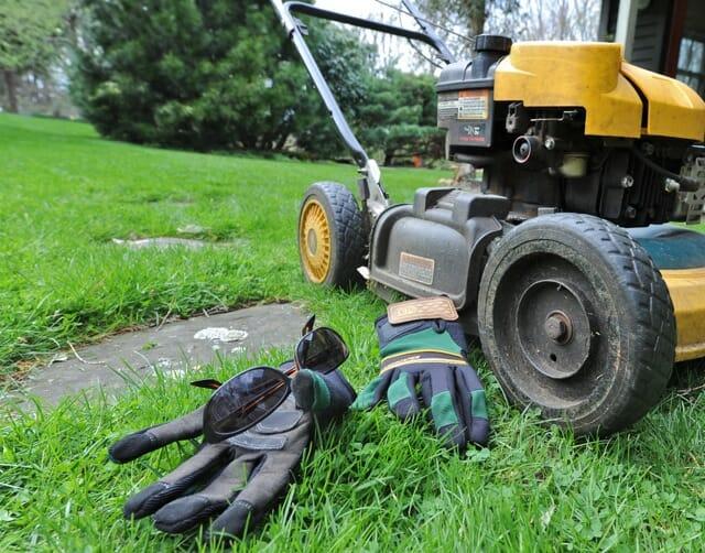 My mulching lawn mower