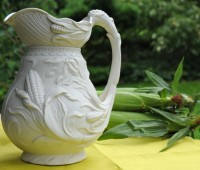bennington corn pitcher