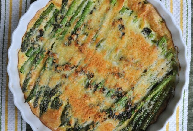 In season easy asparagus parmesan bake a way to garden ccuart Gallery