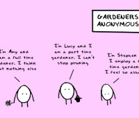 doodles by andre: what gardeners regret