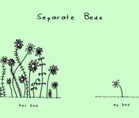 doodle by andre: separate beds?