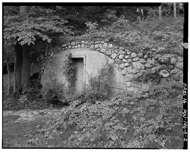 historic root cellar, Minnesota