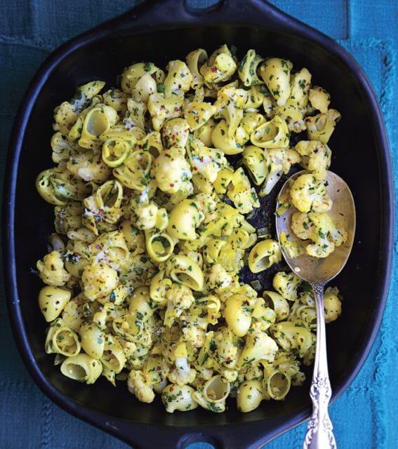 Cauliflower pasta copyright Vegetable Literacy