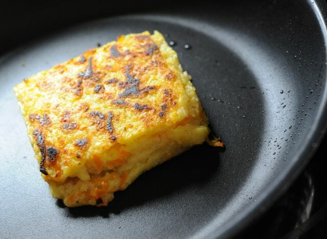 Crispy Grilled Polenta Recipe — Dishmaps