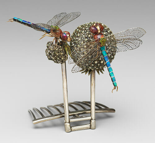 Tiffany dragonfly hair ornament (photo from Metropolitan Museum of Art)