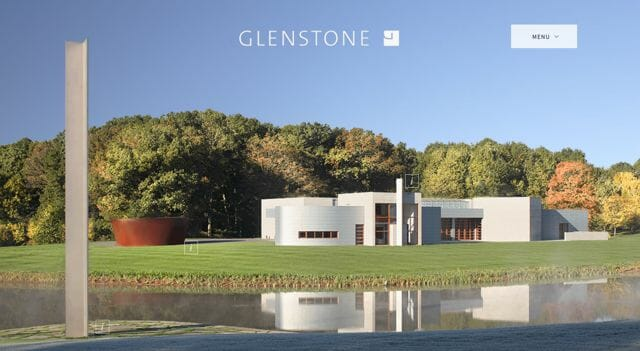 Glenstone museum, in Potomac, Maryland, practices sustainable landscape stewardship since 2010.