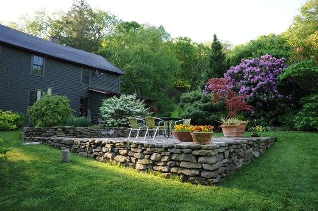 patio garden of Margaret Roach