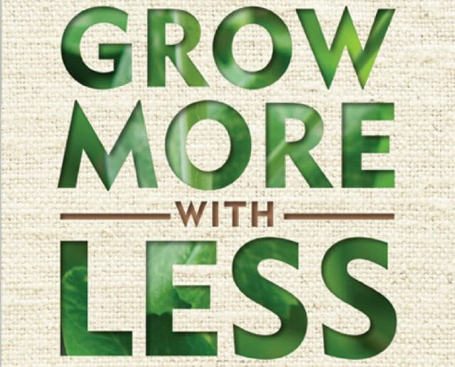 grow more with less logo
