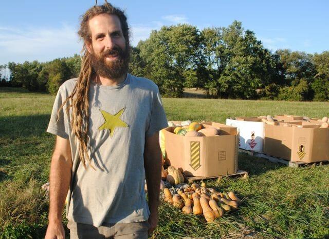 edmund frost and squash harvest