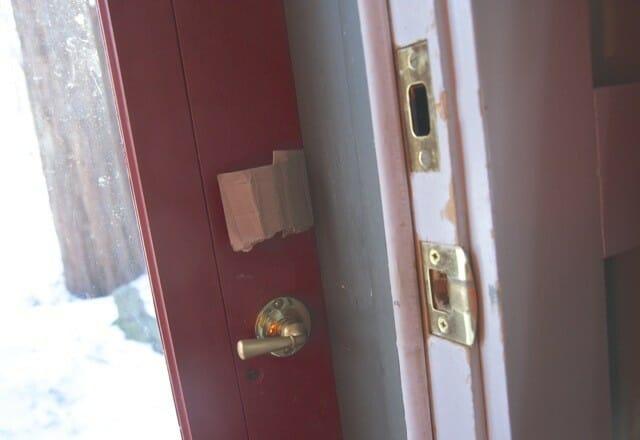 shim in door