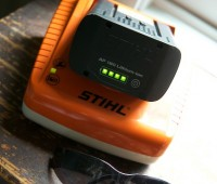 stihl litium ion mower charger