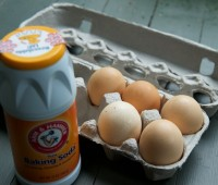 eggs and baking soda