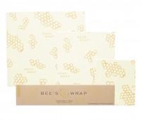 beeswax wraps (versus plastic wrap)