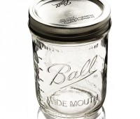 wide-mouth canning jars for freezing, too
