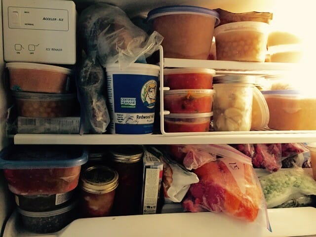 freezer stash