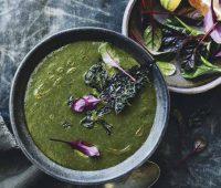 recipe: power green soup, by rebecca katz
