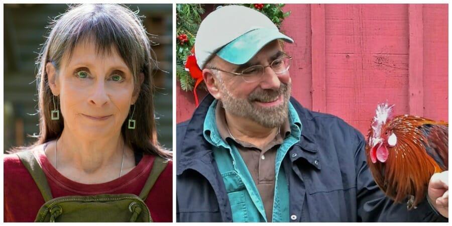 Margaret Roach and Ken Druse
